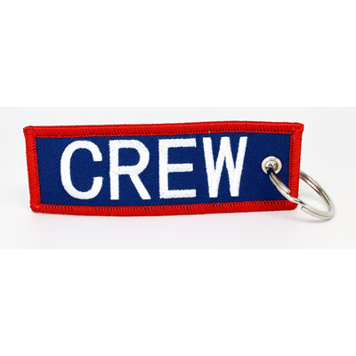 CREW Key Chain - Navy