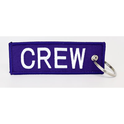 CREW Key Chain - Purple