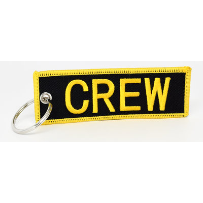 CREW Key Chain - Black
