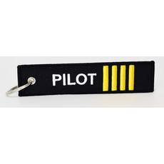 Pilot Key Chain - Black