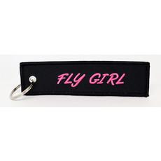 Fly Girl Key Chain - Black