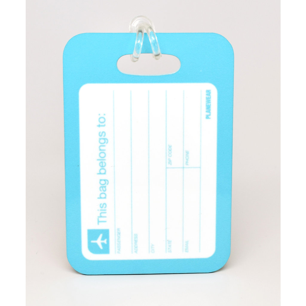 "Come Fly with Me ""Jenny"" Luggage Tag"