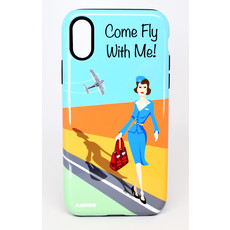 """Come Fly with me """"Jenny"""" Iphone 10 Case"""