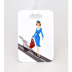 """Jenny"" Jumpseat Luggage Tag"
