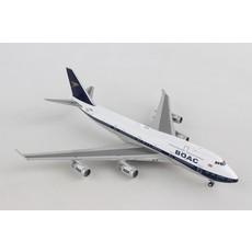 BRITISH 747-400 BOAC RETRO LIVERY