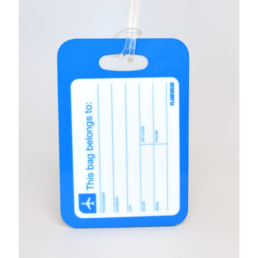"""Johnny"" Jumpseat Crew Tag Luggage Tag"