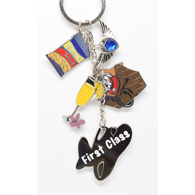 Jumpseat Keychain First Class Charms