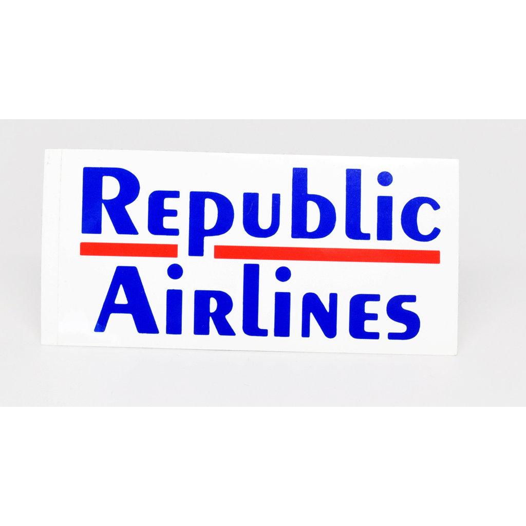 Republic Airlines Logo sticker