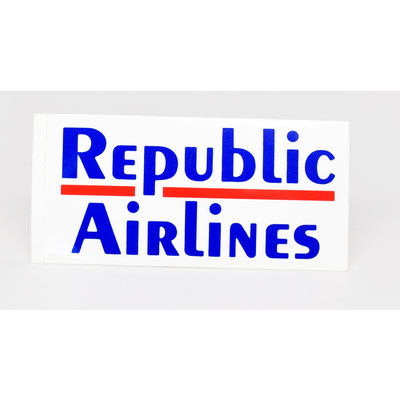 Republic Airlines Logo sticker