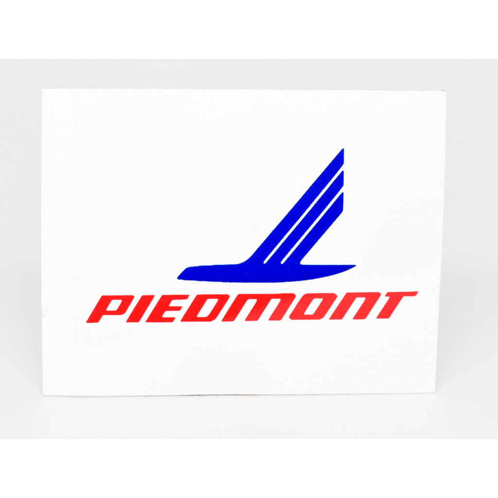 Piedmont Airline 70's Logo sticker