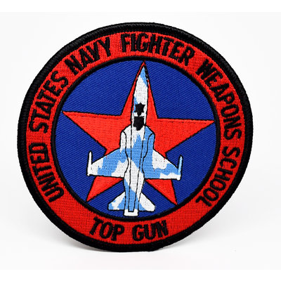 Fighter Weapons School Top Gun Patch