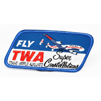 Fly TWA Super Constellation Patch