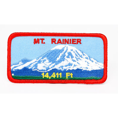 Mount Rainier Patch - 14,411 Feet Patch