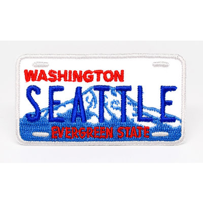 Washington State License Plate Patch