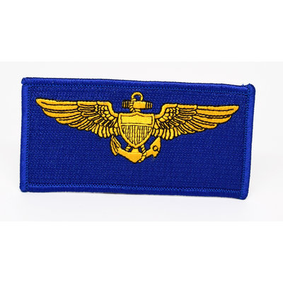 Flight Suit Tag (Naval Aviator) Patch