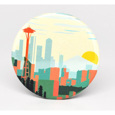 SkyTag Magnet Seattle Skyline