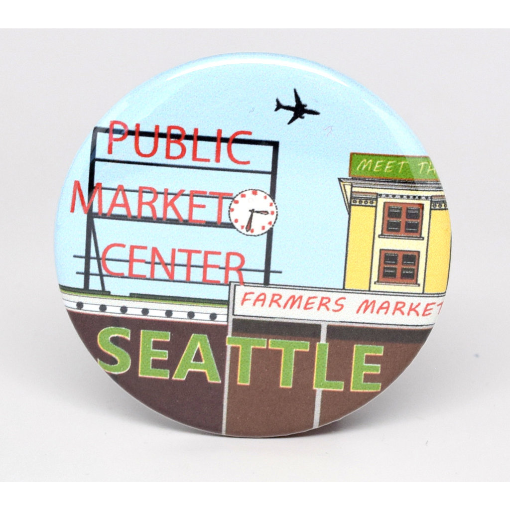 SkyTag Magnet Pike Place Market