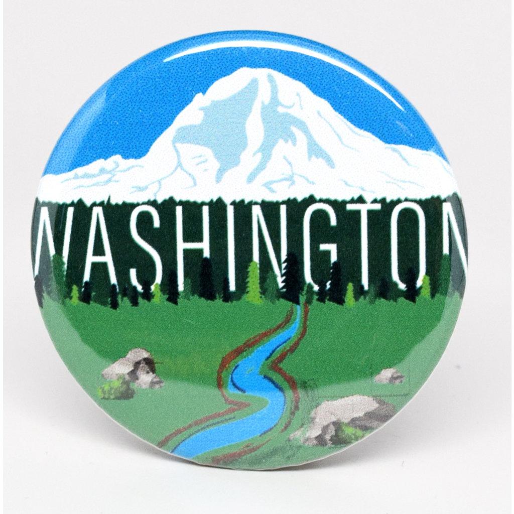 SkyTag Magnet Mount Rainier Washington