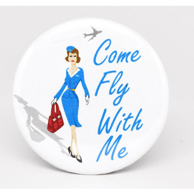 SkyTag Jenny Magnet Come Fly With Me