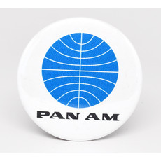 SkyTag Magnet Early Pan Am Globe 1955.Disc
