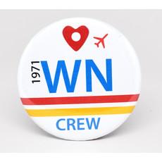 SkyTag WN Crew Magnet