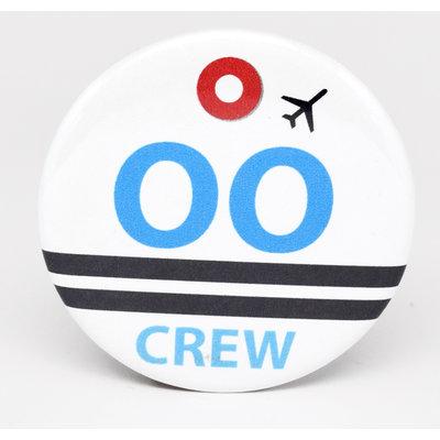 SkyTag OO Skywest Crew Magnet
