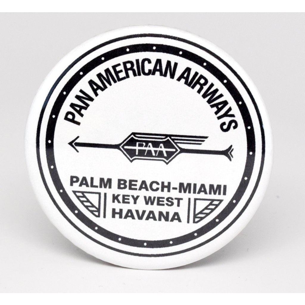 SkyTag Magnet Early Pan Am 1927-Disc.