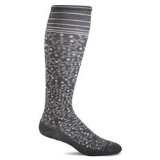 Compression Socks Women's New Leaf Charcoal Small/Medium