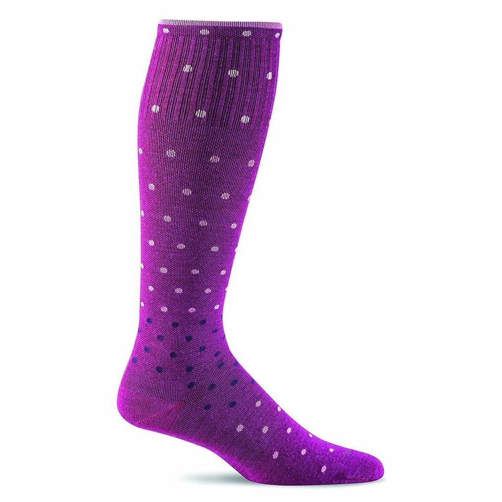 Compression Socks Women's On The Spot Violet Medium/Large