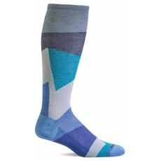 Compression Socks Women's Emboldened Ocean Medium/Large