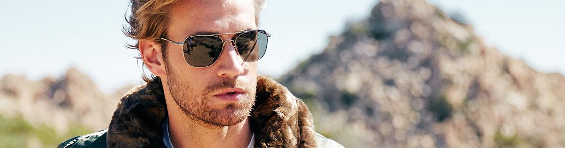 Sunglasses men category header