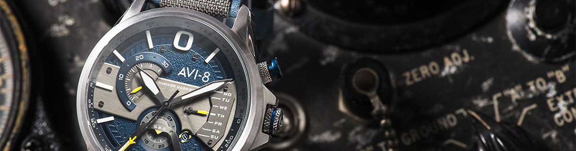 Watches men category header