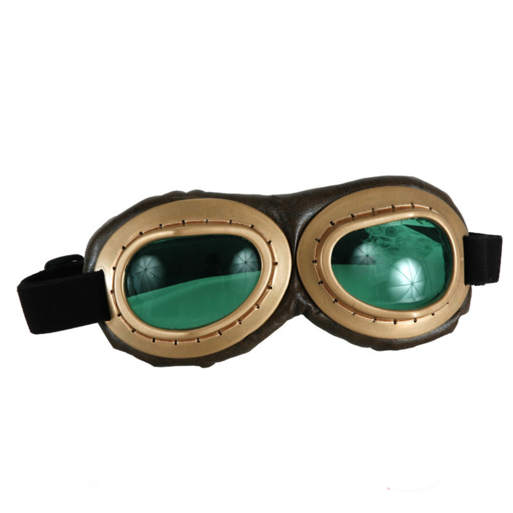 Aviator Goggle GLD-BRW/GR