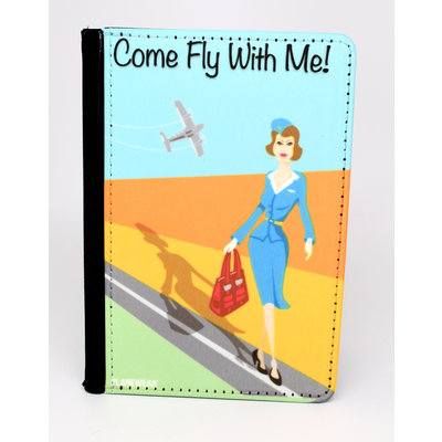 "Come Fly with me ""Jenny"" Passport Cover"