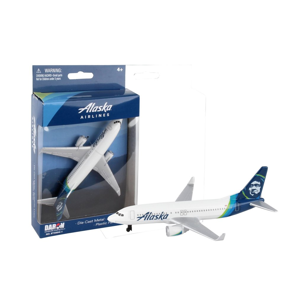 Alaska Airlines Play Airplane Toy