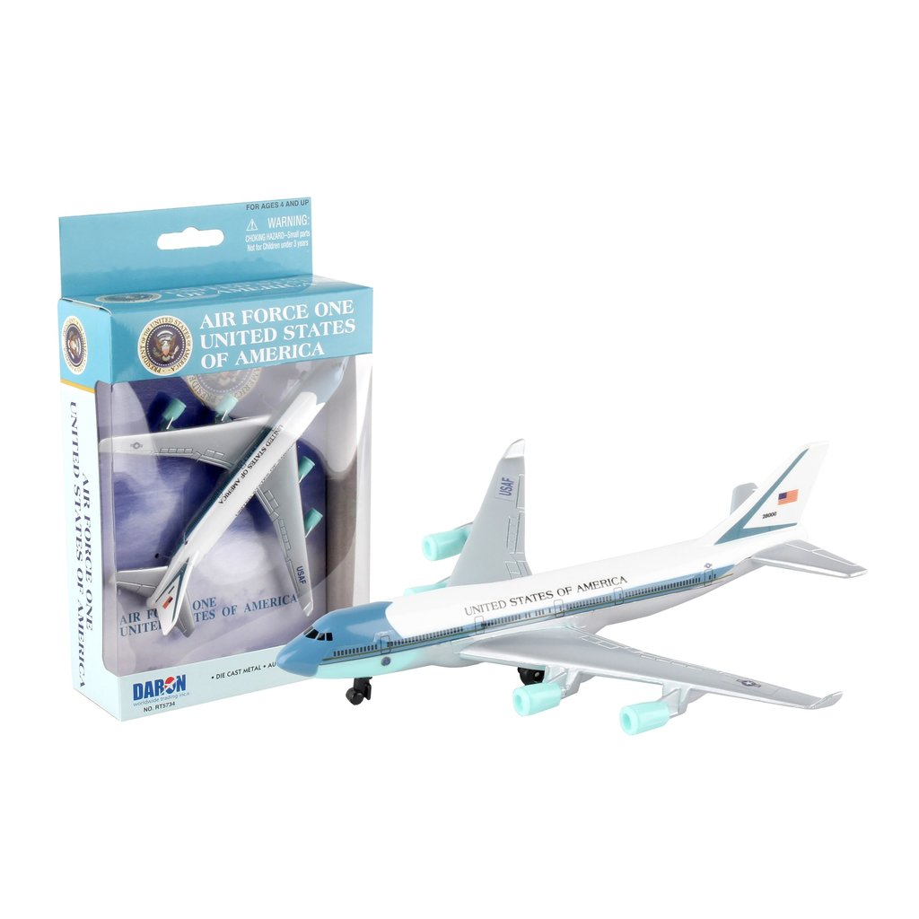 Air Force One Play Airplane Toy