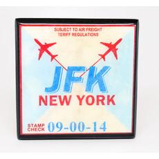 JFK Vintage Coaster