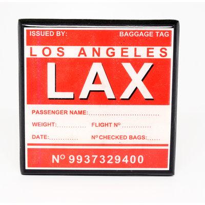 LAX Vintage Coaster