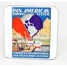 Pan Am Airways System Vintage Coaster