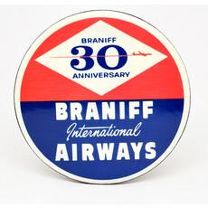 Braniff Anniversary Vintage Coaster