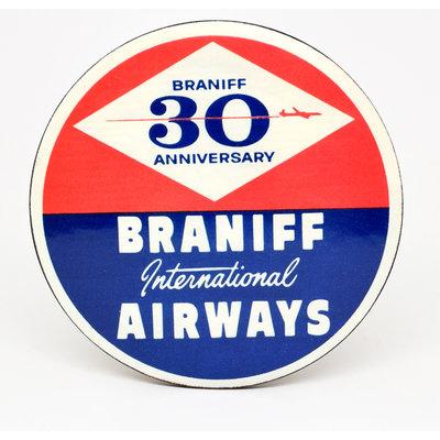 Braniff Anniversary Coaster
