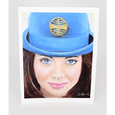 Stewardess Style Pan Am 1971 Pan Am Blue