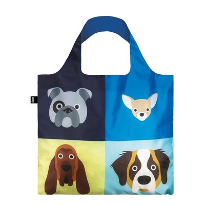 Reusable Tote Bag Dogs