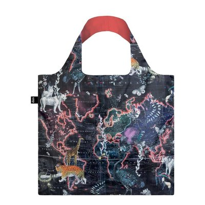 Reusable Tote Bag  World Map