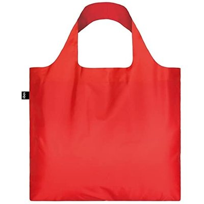Loqi Reusable Tote Bag in Puro Candy Red-disc
