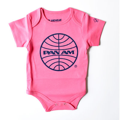 Pan Am Pink Bodysuit