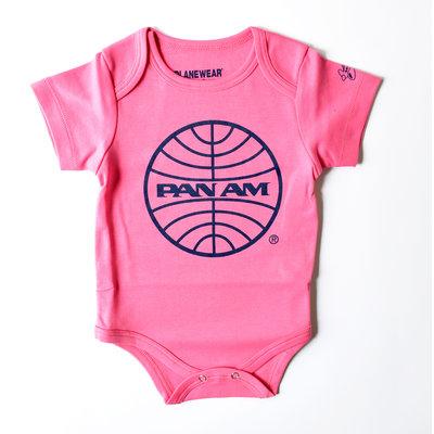 Pan Am Pink Bodysuit