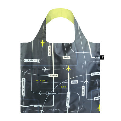 Reusable Tote Bag Airport Departures