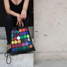 Reusable Tote Bag Dots