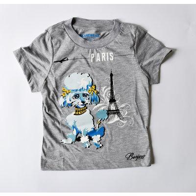 Poodle Paris T-Shirt